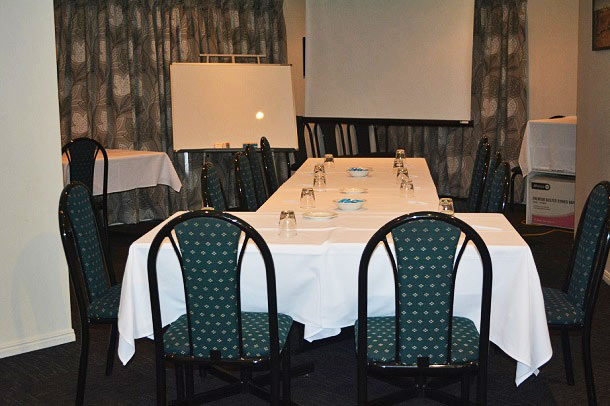 Ferns Licensed Restaurant - Conference Set Up